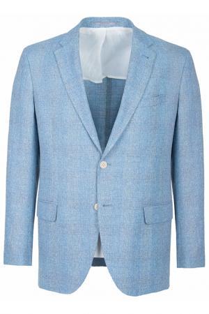 Пиджак Cantarelli. Цвет: светло-голубой