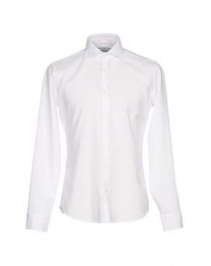 Pубашка MASSIMO BRUNELLI. Цвет: белый