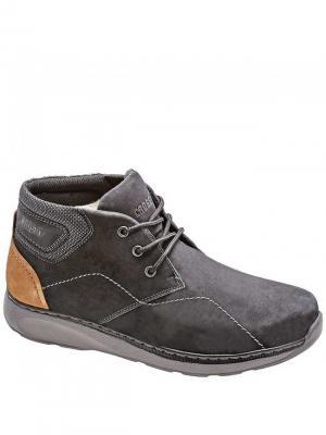 Ботинки Crosby. Цвет: черный, коричневый