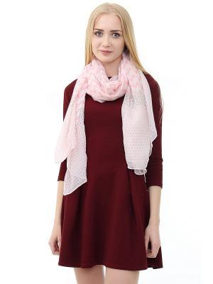 Платок Infiniti. Цвет: розовый, белый