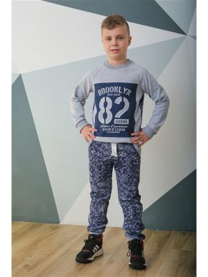 Спортивный костюм LFC. Цвет: темно-синий,серый