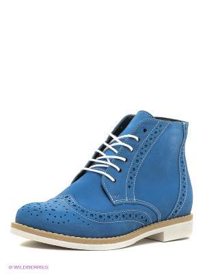 Ботинки BELWEST. Цвет: синий