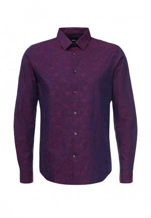 Рубашка Burton Menswear London. Цвет: фиолетовый