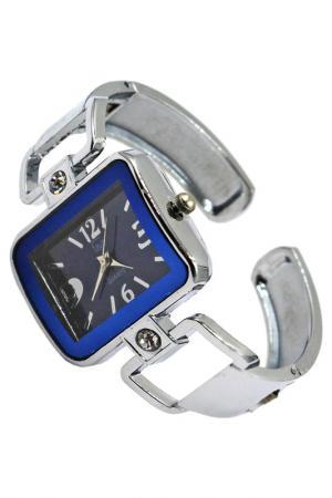 Часы Taya. Цвет: серебристый, синий