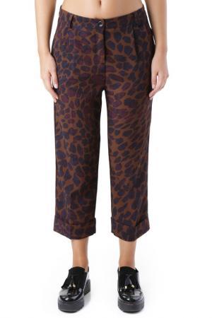 Pants Cristina Gavioli. Цвет: brown