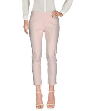 Повседневные брюки CONTE OF FLORENCE. Цвет: светло-розовый