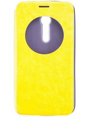 Кейс-книжка для Asus ZenFone 2, 5.5 skinBOX. Цвет: желтый