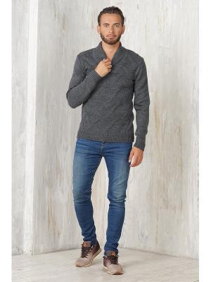 Пуловер VAY. Цвет: темно-серый