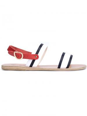 Сандалии Dinami Stripes Ancient Greek Sandals. Цвет: белый