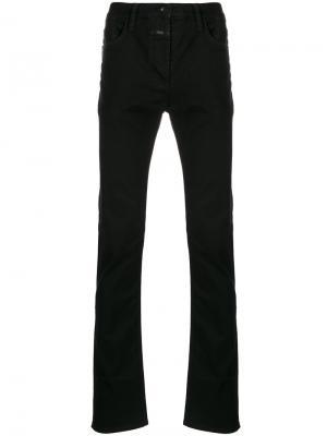 Классические приталенные джинсы Closed. Цвет: чёрный