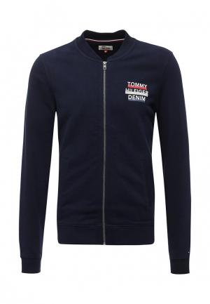 Олимпийка Tommy Hilfiger Denim. Цвет: синий