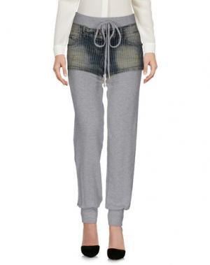 Повседневные брюки MARIAGRAZIA PANIZZI. Цвет: серый