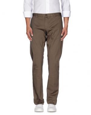 Повседневные брюки VERDERA. Цвет: темно-коричневый