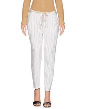 Повседневные брюки GIORGIA & JOHNS. Цвет: белый