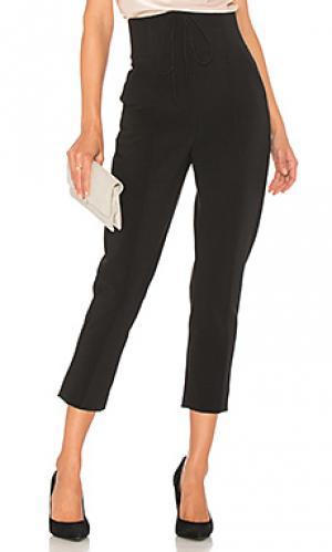 Костюмные брюки bi-stretch cigarette NICHOLAS. Цвет: черный