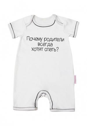 Комбинезон Olga Skazkina. Цвет: белый