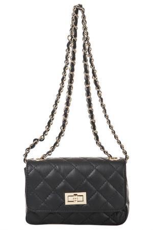 Клатч FLORENCE BAGS. Цвет: черный