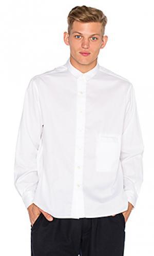 Рубашка gilroy Death to Tennis. Цвет: белый