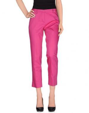 Повседневные брюки KILTIE. Цвет: фуксия