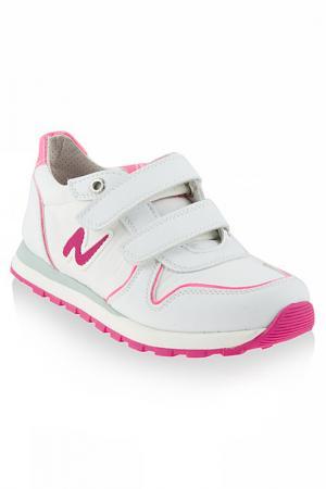 Кроссовки Naturino. Цвет: белый