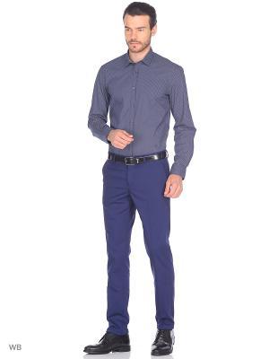 Рубашка Trussardi. Цвет: синий