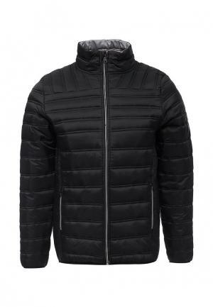 Куртка утепленная MeZaGuz. Цвет: черный