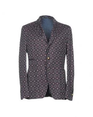 Пиджак JOHN SHEEP. Цвет: фиолетовый