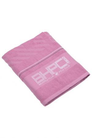 Банное полотенце, 80х150 Beverly Hills Polo Club. Цвет: розовый