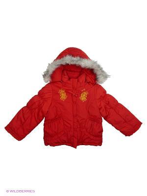 Куртка Babycollection. Цвет: красный