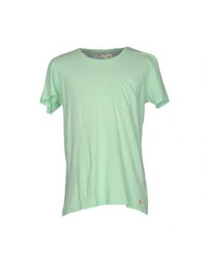Футболка SUIT. Цвет: светло-зеленый