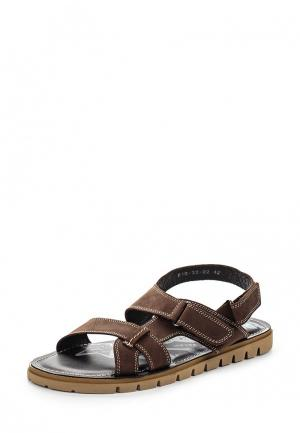 Сандалии Dino Ricci Trend. Цвет: коричневый