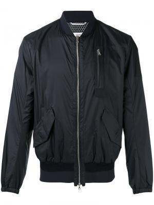 Классическая куртка бомбер Oamc. Цвет: синий