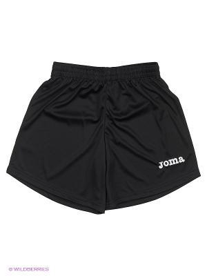 Шорты Real Joma. Цвет: черный, темно-зеленый, антрацитовый