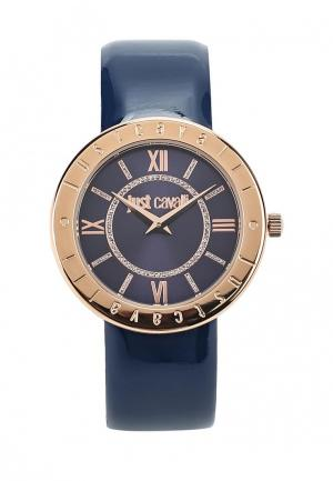 Часы Just Cavalli. Цвет: синий