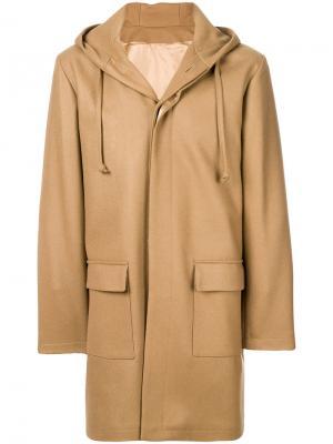 Пальто Mathieu Harmony Paris. Цвет: телесный