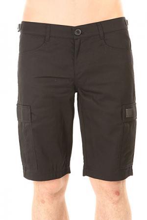 Шорты классические  Cargo Shorts Strap Black Skills. Цвет: черный
