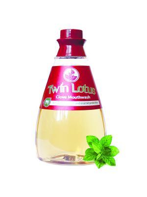 Твин Лотус  ополаскиватель для полости рта -Растительный 330 мл Twin Lotus. Цвет: красный