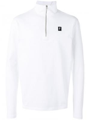 Толстовка-пуловер ace Futur. Цвет: белый