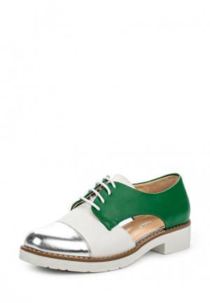 Ботинки Super Mode. Цвет: зеленый