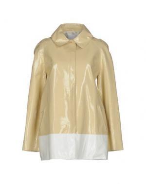 Легкое пальто RICHARD NICOLL. Цвет: слоновая кость