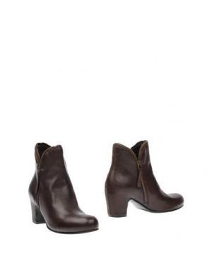 Полусапоги и высокие ботинки ROSAMUNDA. Цвет: темно-коричневый