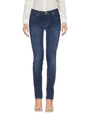 Повседневные брюки BLUE LUXURY. Цвет: грифельно-синий