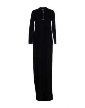 Длинное платье INTROPIA. Цвет: черный