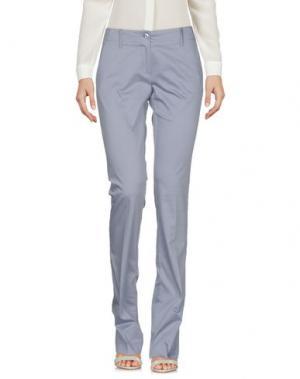 Повседневные брюки CARLA G.. Цвет: светло-серый