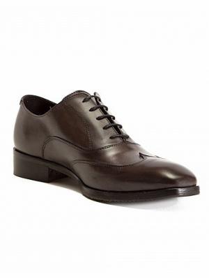 Туфли Morena Gabbrielli. Цвет: антрацитовый, темно-коричневый, бронзовый