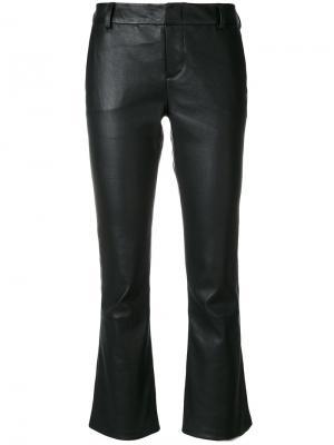 Укороченные брюки клеш Federica Tosi. Цвет: чёрный
