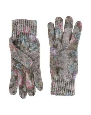 Перчатки JOLIE by EDWARD SPIERS. Цвет: голубиный серый
