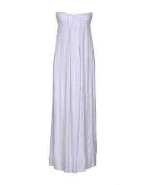 Длинное платье FRANCESCA FERRANTE. Цвет: белый