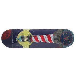 Дека для скейтборда  Mayak Denim/Red/White 32 x 8.25 (21 см) Nord. Цвет: синий,белый,красный