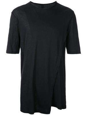 Многослойная футболка Forme Dexpression D'expression. Цвет: чёрный